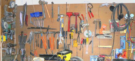 How many tools will fit into an RV?