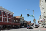 The old, downtown area of Cheyenne, now restored and attractive.
