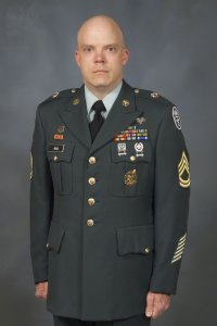 The official US Army photo of SFC Kenneth Wood