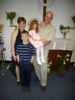 This is a picture of the family taken on Easter Sunday, 2006.