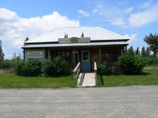 This visitor center was in the town of St. George, NB.