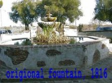 original fountain  1816