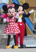 Your host and hostess, Mickey & Minnie!