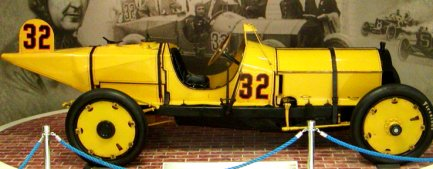 This car won the very first race ever run at Indy!