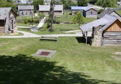 Old Bardstown village historic site.