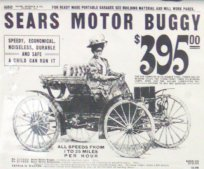 This is a page from an early Sears Roebuck catalog when they sold a car.