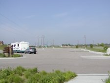 There is ample parking for cars and RVs.