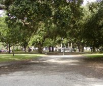 A city park in Old Charleston.