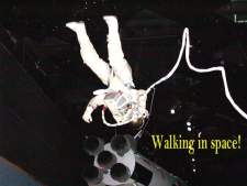 Walking in space