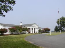 The museum and park headquarters at Manassas Natl. Monument.