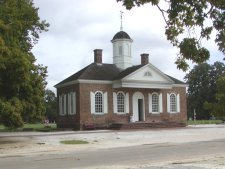 Many of the public buildings from the 1700's still stand and most have been restored and are open to the public.