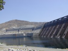 Gran Coulee Dam, the largest condrete dam in the world.
