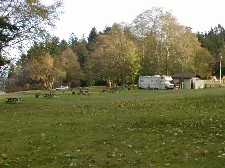 view of campground last fall