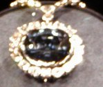 The most famous Hope diamond.